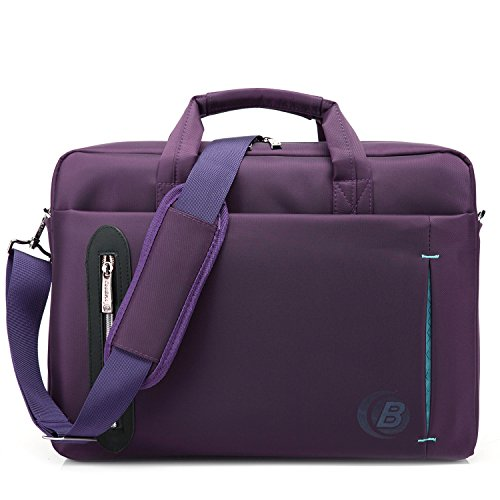 CoolBELL 15.6 Inch Nylon Laptop Bag Shoulder Bag with Strap Multicompartment Messenger Hand Bag  ...