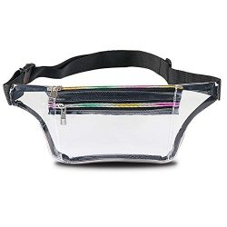 Clear Fanny Pack for Women – Waterproof Transparent Waist Pack for Men NFL & PGA & ...