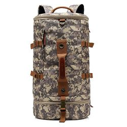 CoolBELL Sport Military Backpack Convertible Bag Shoulder Bag Briefcase 45L Travel Knapsack Ligh ...