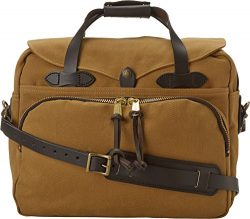 FIlson Padded Laptop Bag/Briefcase One Size Tan – Best for School, Business, Day Trips, an ...