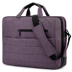 BRINCH 17.3 Inch Nylon Shockproof Carry Laptop Case Messenger Bag for 17-17.3 Inch Laptop/Notebo ...