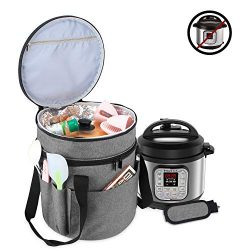 Luxja Carrying Bag Compatible with Instant Pot (3 Quart), Travel Tote Bag for 3 Quart Pressure C ...