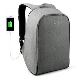 KOPACK Waterproof Anti-thief Laptop Backpack Usb Charging Port Business Travel Backpack Bag Men  ...