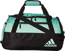 adidas Squad Duffel Bag, Clear Mint Two Tone/Black, One Size
