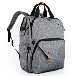 Hap Tim Laptop Backpack 15.6/14/13.3 Inch Laptop Bag Travel Backpack for Women/Men Waterproof Sc ...