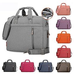 Samaz Laptop Bag Nylon Shakeproof Laptop Messenger Shoulder Bag Laptop Sleeve Cover Briefcase wi ...