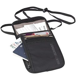 Sea To Summit Travelling Light Neck Wallet RFID, Grey