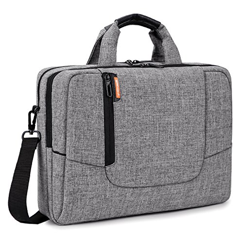 BRINCH 17.3 inch Laptop Computer Case Cover Sleeve Shoulder Strap Bag with Side Pockets Handles  ...