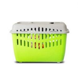 Marchioro Binny Basic Top Load Pet Carrier, Ideal for Cats, Small Puppies, Rabbits, and Birds (L ...