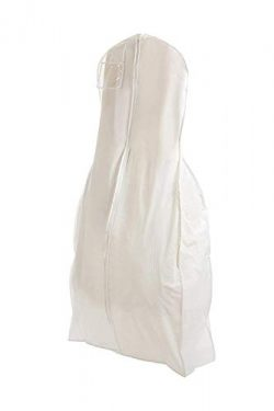 Bags for Less X Large White Bridal Wedding Gown Dress Garment Bag