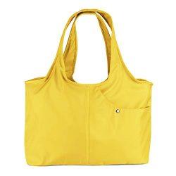 ZOOEASS Women Fashion Large Tote Shoulder Handbag Waterproof Tote Bag Multi-function Nylon Trave ...