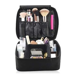 Eliza Huntley Travel Makeup Organizer, Makeup Travel Case & Toiletry Travel Bag for Women, C ...