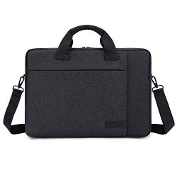 Laptop Bag 15.6 Inch Lightweight Business Briefcase Water Resistant Office College Messenger Bag ...