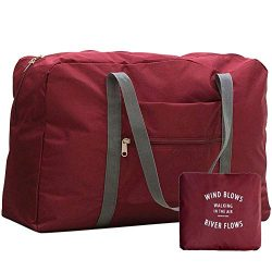 Foldable Travel Duffel Bag Capacity Carry on Bag Luggage Sports Nylon away carry on luggage for  ...