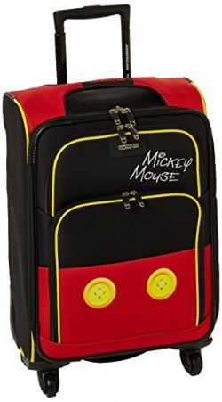 American Tourister Disney 21″ Spinner Luggage Mickey Mouse Pants
