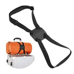 VVILL Bag Bungee, Luggage Straps Suitcase Adjustable Belt – Lightweight and Durable Travel ...