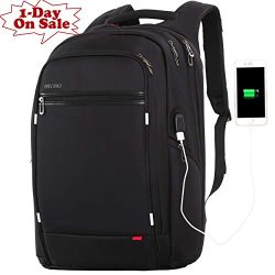OUTJOY Laptop Backpack for Men Women,Travel Backpack Large Waterproof School Backpack Anti Theft ...
