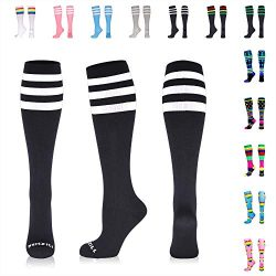 NEWZILL Compression Socks (20-30mmHg) for Men & Women, Best Graduated Athletic Fit for Runni ...