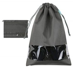 iwill CREATE PRO Portable Shoe Storage Bag for Mens Shoes, Travel Shoe Bags for Luggage Suitcase ...