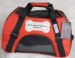 Small Red Toy Dog Breed Carrier