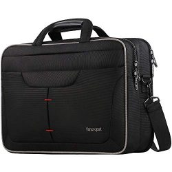 Briefcases for Men, 15.6 Inch Laptop Bag, TSA Travel Durable Office Computer Messenger Bags with ...