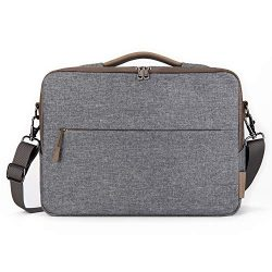 Comfyable Laptop Bag 13 Inch, Computer Briefcase for Men with Organizer and Shoulder Strap for T ...