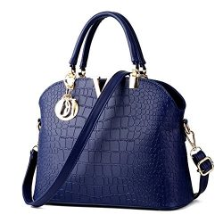 JHVYF Women Claissic Hand Bags Crossbody Casual Messenger Purse Satchel Royalb