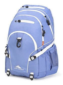 High Sierra Loop Backpack – Lapis/White – with Compression Straps – Ideal Back ...