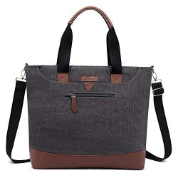 Ladies Laptop Tote Bag Large Womens Business Laptop Shoulder Bag Work Tote Purse Office Messenge ...