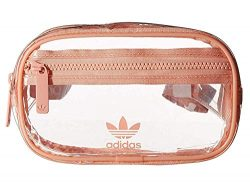 adidas Originals Originals Clear Waist Pack, Dust Pink, One Size