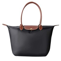 Laptop Tote Bag, Fits 15 Inch Nylon Waterproof Laptop Tote Bag/Nylon Travel Shoulder Tote Bag (B ...