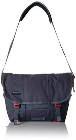 Timbuk2 Flight Classic Messenger Bag, Granite/Flame, XS, Granite/Flame, x Small