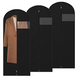 "Amethysun Garment Bags for Travel and Storage, 60"" Breathable Suit Bags, Oxford Suit Cover ..."