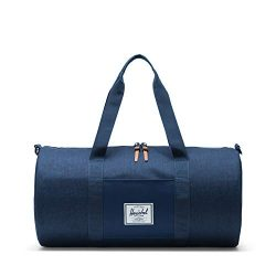 Herschel Sutton Mid-Volume Duffel Bag Crosshatch/Medieval Blue, One Size