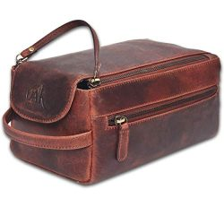 toiletry bag for men – toiletry bag for women leather toiletry bag travel dopp kit Leather ...