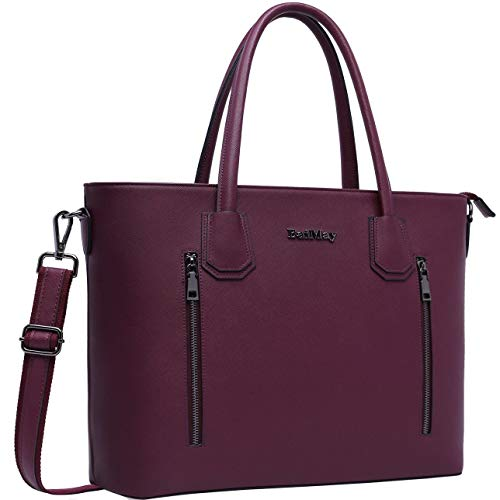 Laptop Bag for Women,15-15.6 Inch Laptop Tote Bag Briefcase Tablet Bag Work Office Bag with Stur ...