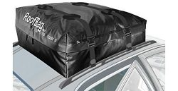 RoofBag Rooftop Cargo Carrier | Waterproof | Made in USA | 1 Year Warranty | For Cars With Side  ...