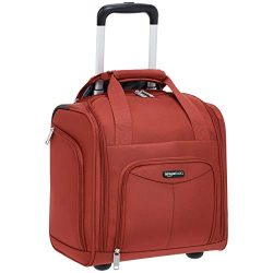 AmazonBasics Underseat Luggage, Red