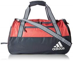 adidas Squad Duffel Bag, Prism Pink/Onix/White, One Size
