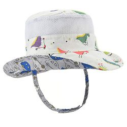 Baby Sun Hat Double Sides – Toddler Sun Protection Hat UPF 50+ Kids Summer Play Pool Beach ...