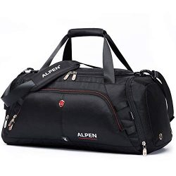 Swiss Alpen – Cervino Duffel – Water Resistant Durable 1680D Carry On Travel Duffel  ...