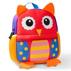 Cute Toddler Backpack Toddler Bag Plush Animal Cartoon Mini Travel Bag for Baby Girl Boy 1-6 Yea ...
