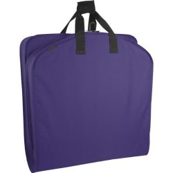 WallyBags Luggage 52″ Garment Bag, Purple