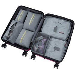 Sackorange 7 Set Travel Storage Bags Packing cubes Multi-functional Clothing Sorting Packages,Tr ...