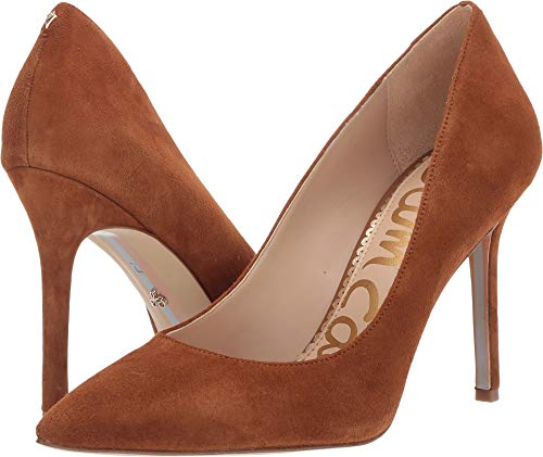 Sam Edelman Women's Hazel Luggage Suede Kid Suede Leather 6.5 W US