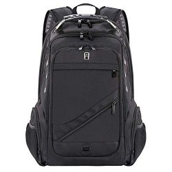 Laptop Backpack, Business Anti-Theft Travel Backpack with USB Charging Headphone Port, Water Res ...