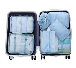 Luggage Organizer, Packing Cubes For Travel, Compression Cells, Accessories Bags Made With Weara ...