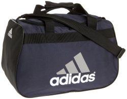 adidas Diablo Small Duffel Bag, Navy/Alum, One Size