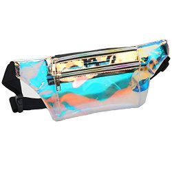 Mum's memory Clear Fanny Pack for Women – Waterproof Transparent Waist Pack for Men  ...