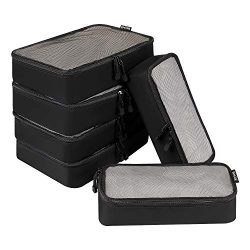 BAGAIL 6 Set Net Packing Cubes Multi-Functional Luggage Packing Organizers for Travel Accessorie ...